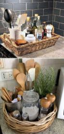 Inspiring Kitchen Organization and Storage Ideas to Make the Kitchen Looks Neater Part 37