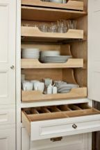 Inspiring Kitchen Organization and Storage Ideas to Make the Kitchen Looks Neater Part 41