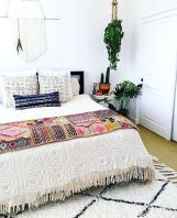 Inviting Bedroom Concept with Warm Beautiful Rug Decor Part 18