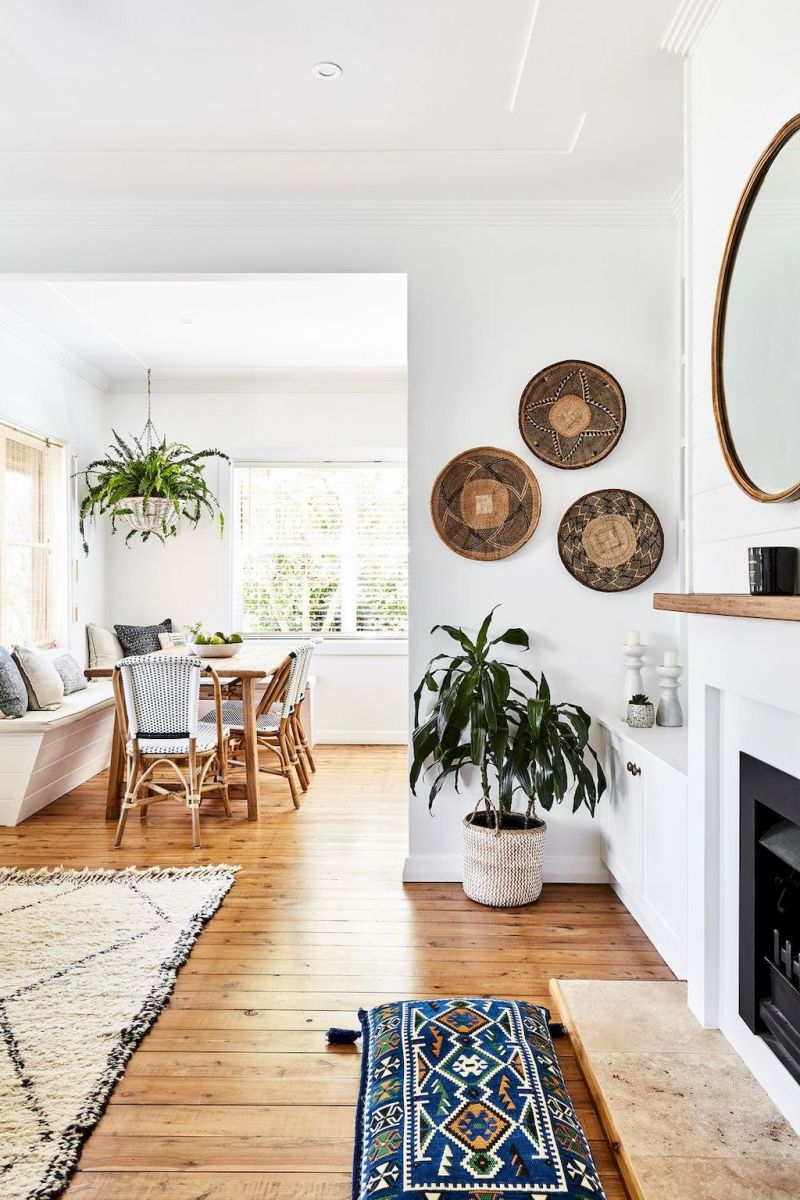 Lively Living Room Vibe with Indoor Plant Decoration Part 33