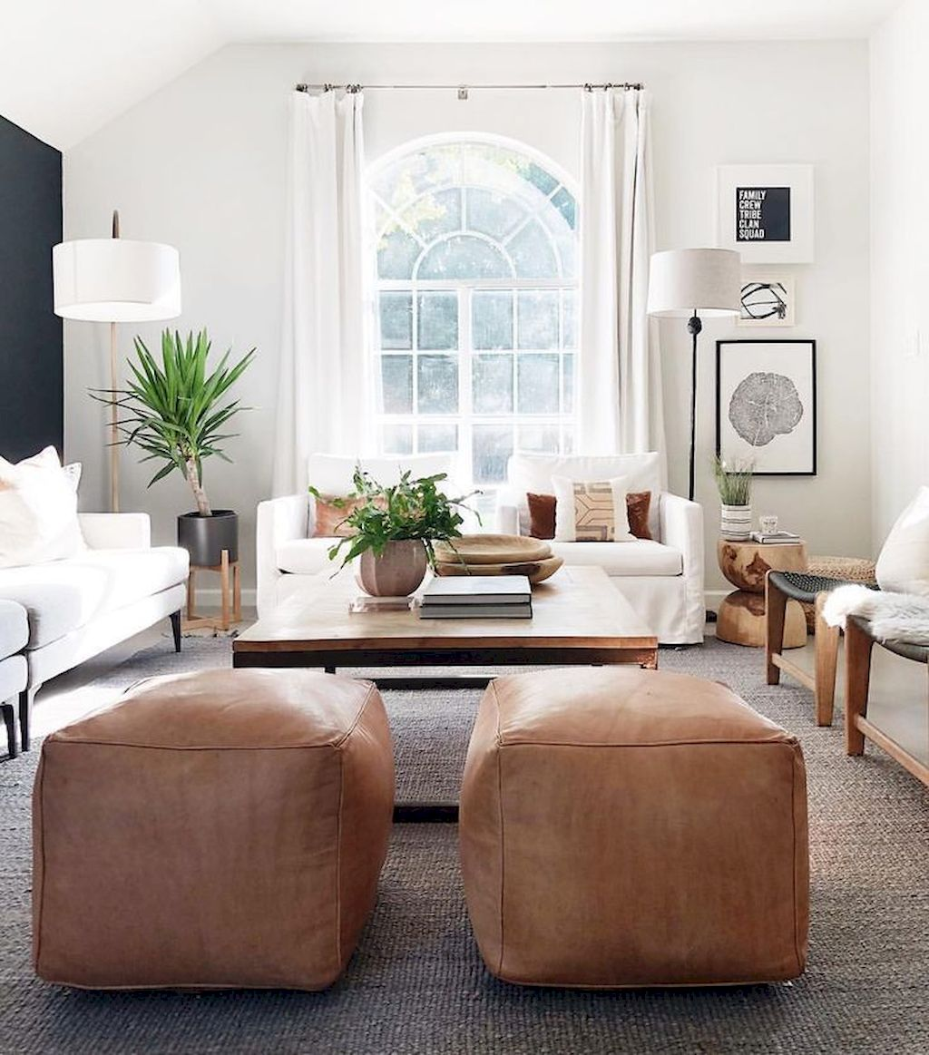 Lively Living Room Vibe with Indoor Plant Decoration Part 42