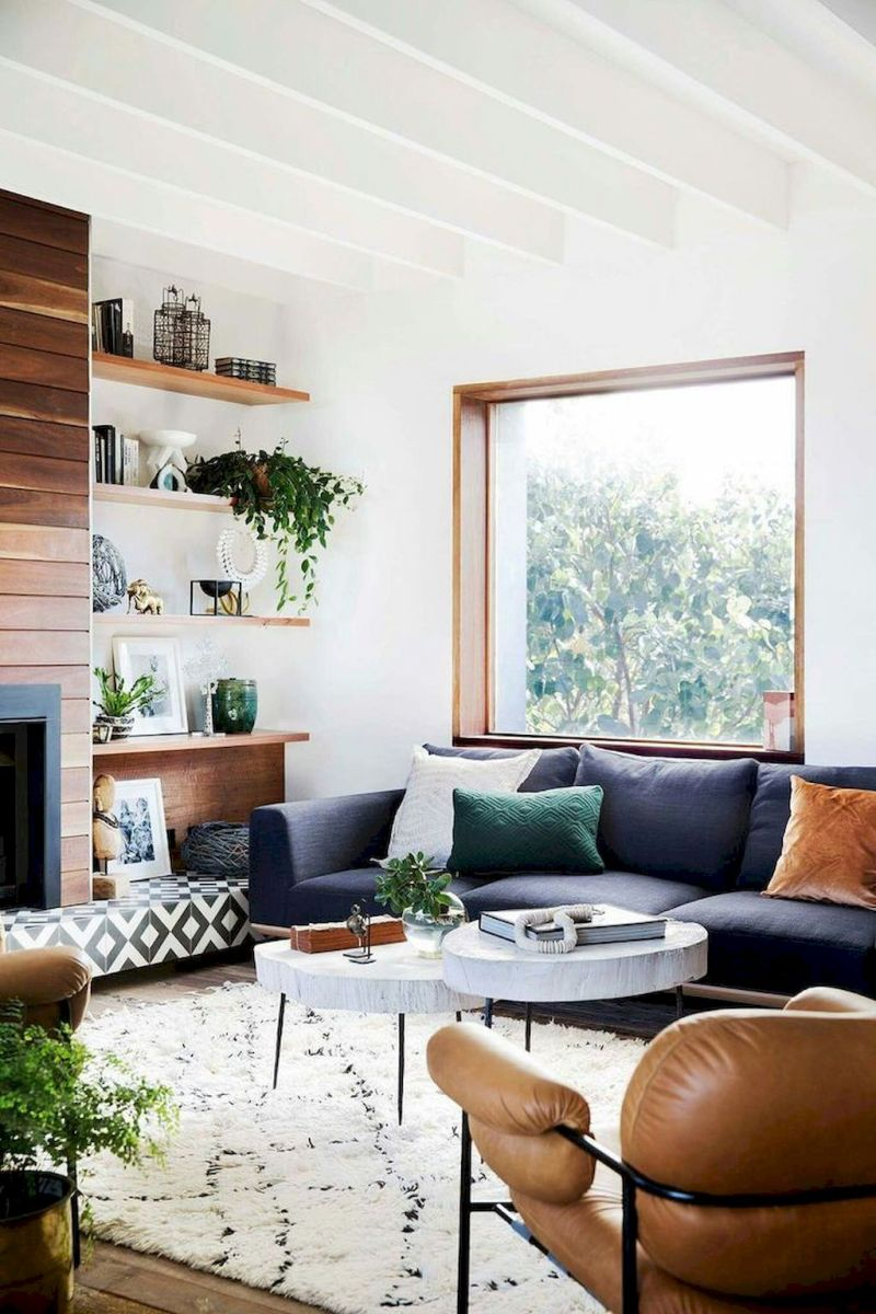 Lively Living Room Vibe with Indoor Plant Decoration Part 44