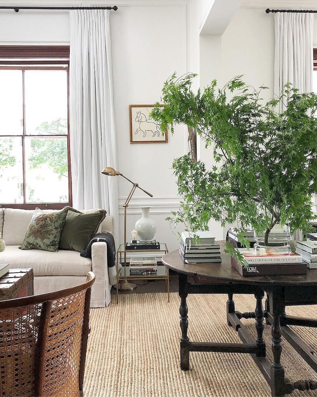 Best Drawing Room: Best Living Room Greenery Decoration