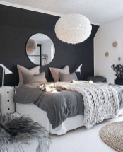 Modern Bedroom Concept With Strong Color Accents Part 36