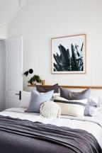 Relaxing Bedroom Feel with Natural Touch of Greenery Decorations Part 16