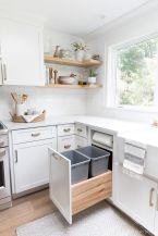 Small Kitchen Organization Ideas with Inspiring Hidden Storage Concept to Make Kitchen Look Neater Part 42