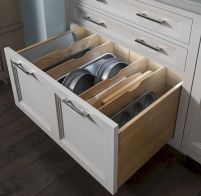 Small Kitchen Organization Ideas with Inspiring Hidden Storage Concept to Make Kitchen Look Neater Part 55
