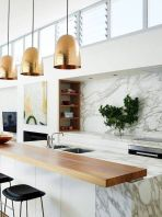 Stunning Kitchen Backsplash Ideas for Neutral Color Kitchen Designs Part 53