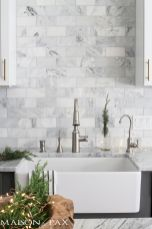 Stunning Kitchen Backsplash Ideas for Neutral Color Kitchen Designs Part 59