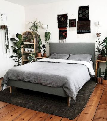 Warm Cozy Bedroom with Beautiful Rug Decoration Part 27