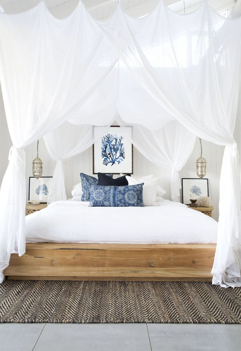 Warm Cozy Bedroom with Beautiful Rug Decoration Part 31