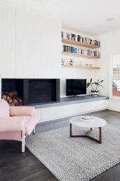 Welcoming Livingroom Designs with Minimalist Furniture Scheme Part 28