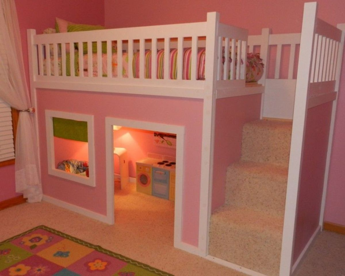 Amazing Bunk Bed Ideas For a Dream Girls and Sisters Room You Wish You Had As A Kid Part 12
