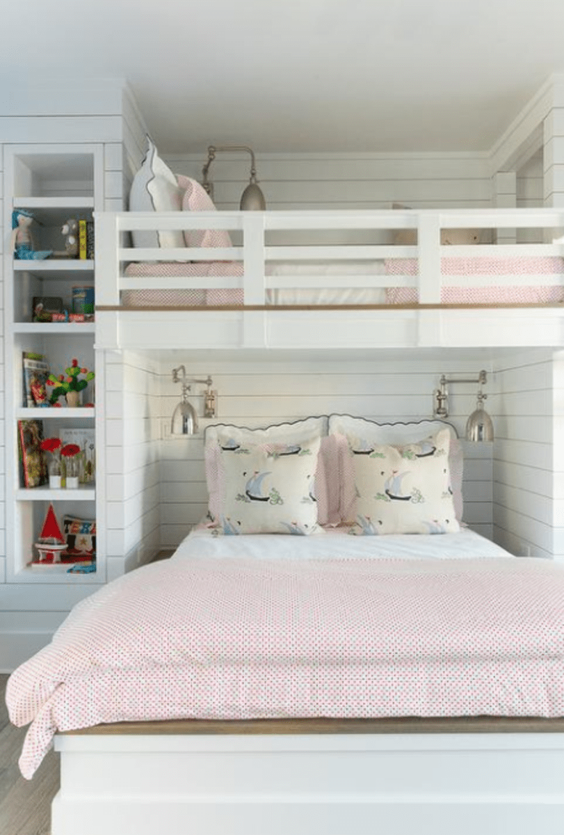 Amazing Bunk Bed Ideas For a Dream Girls and Sisters Room You Wish You Had As A Kid Part 2