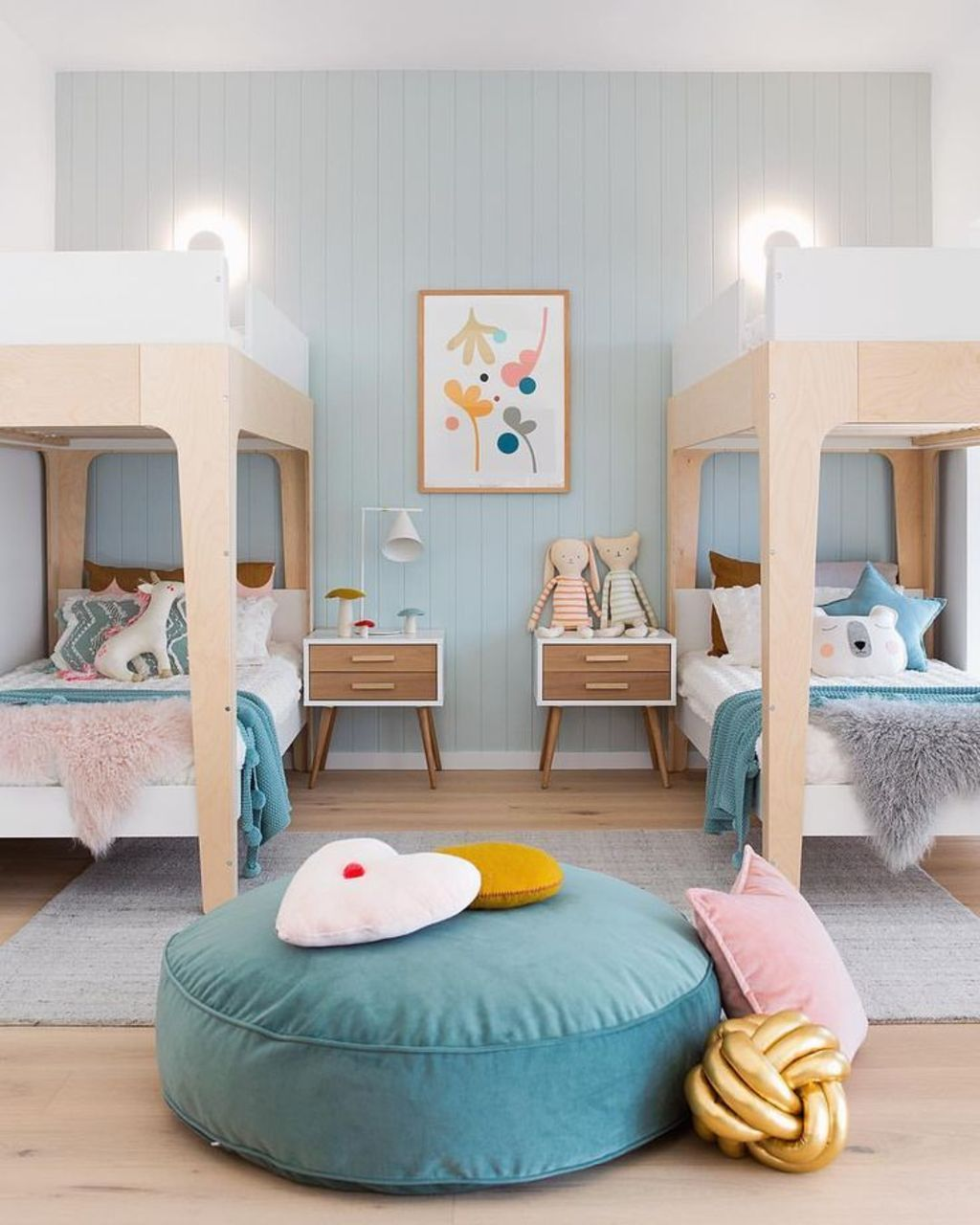 Bunk Bedideas: Amazing Bunk Bed Ideas For A Dream Girls And Sisters Room