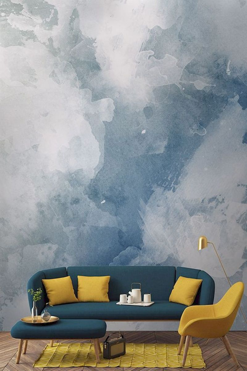 Amazing Interior Ideas in Blue and Yellow Decorations Part 23