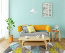 Amazing Interior Ideas in Blue and Yellow Decorations Part 24