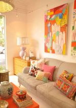 Amazing ideas of cushions as beautiful decoration to enhance living room refreshing atmosphere Part 20