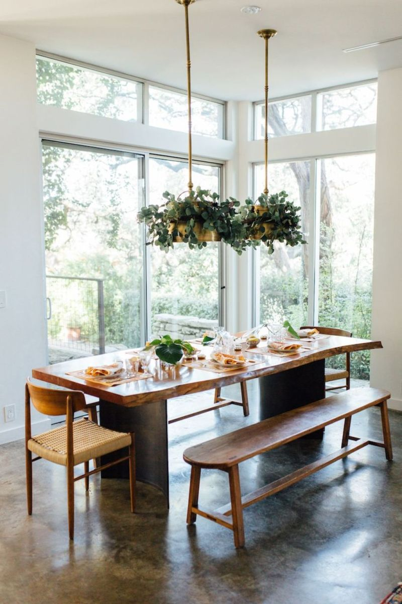 Amazing ideas of liveedge dining tables with more inspiration to liven up the dining rooms friendly and refreshing vibes Part 13