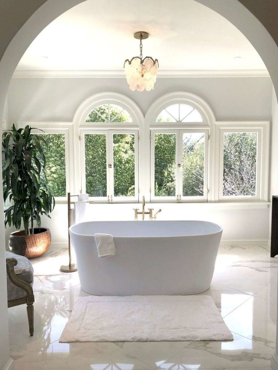 Artsy bathtub ideas for classy bathroom designs Part 30