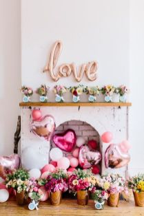 Beautiful Bridal Shower Decoration Ideas during the Valentine Part 10