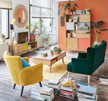 Best Blue Yellow Colors Mixing that Sparks Cheerful Interior Mood Part 12