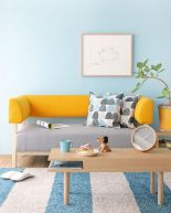 Best Blue Yellow Colors Mixing that Sparks Cheerful Interior Mood Part 2