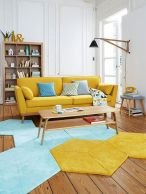 Best Blue Yellow Colors Mixing that Sparks Cheerful Interior Mood Part 3