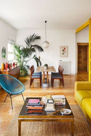 Best Blue Yellow Colors Mixing that Sparks Cheerful Interior Mood Part 6