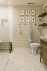 Best bathroom pebble floor designs that add natural bathroom look Part 8
