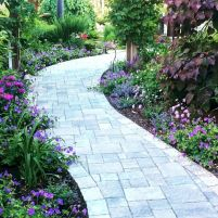 Best walk ways for gardens and outdoor spaces with inspiring paving designs Part 14