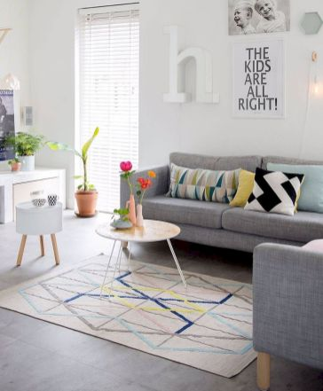 Color Pop Up Ideas for Neutral Colored Home Interior Part 4