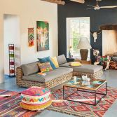 Colorful Home with Amazing Colored Furniture and Accessories Part 1