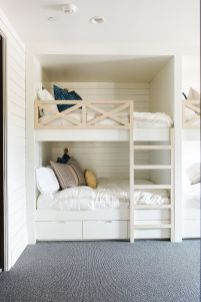 Cool bunk beds design ideas for boys that wonderful as solution for making the most out of a shared space Part 7