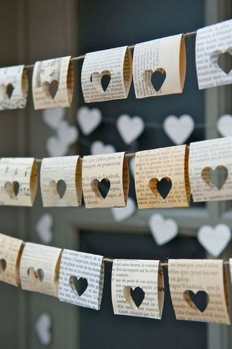 DIY home decoration you can make to celebrate the Valentine with your partner Part 21