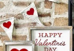 DIY home decoration you can make to celebrate the Valentine with your partner Part 9