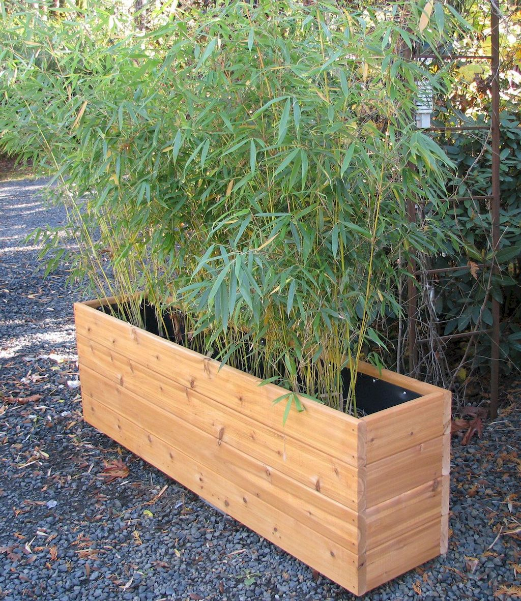 DIY planter boxes made from reclaimed woods and pallets excellent for outdoor and indoor decoration Part 15