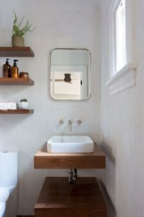 Effective bathroom organization with easy open shelving ideas Part 6