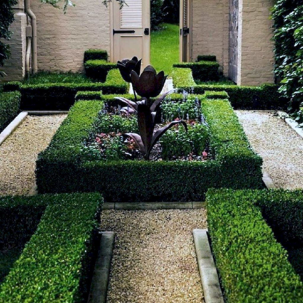Exotic traditional style of graveled garden walkways that add more natural vibes in your garden designs Part 23