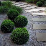 Graveled garden walkways that give more exotic natural finishing in your garden designs Part 13