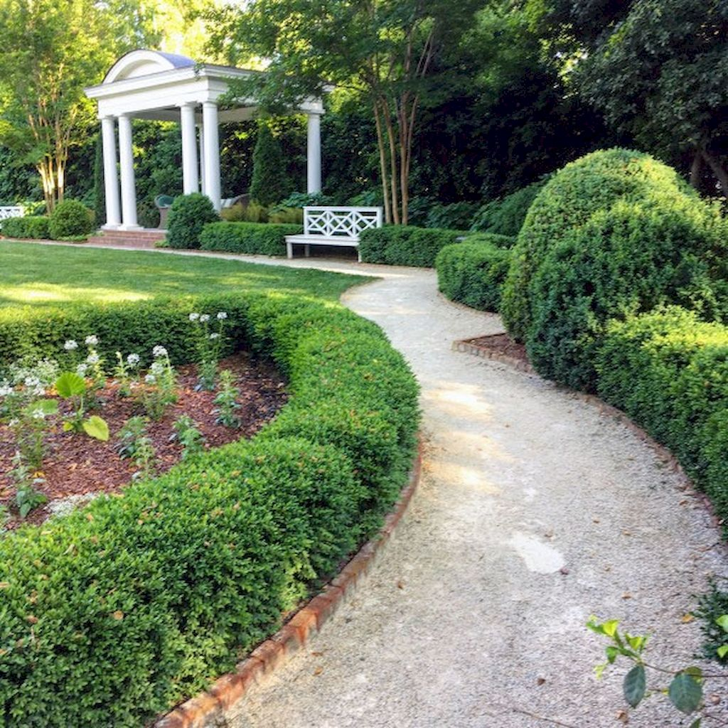 Graveled garden walkways that give more exotic natural finishing in your garden designs Part 2