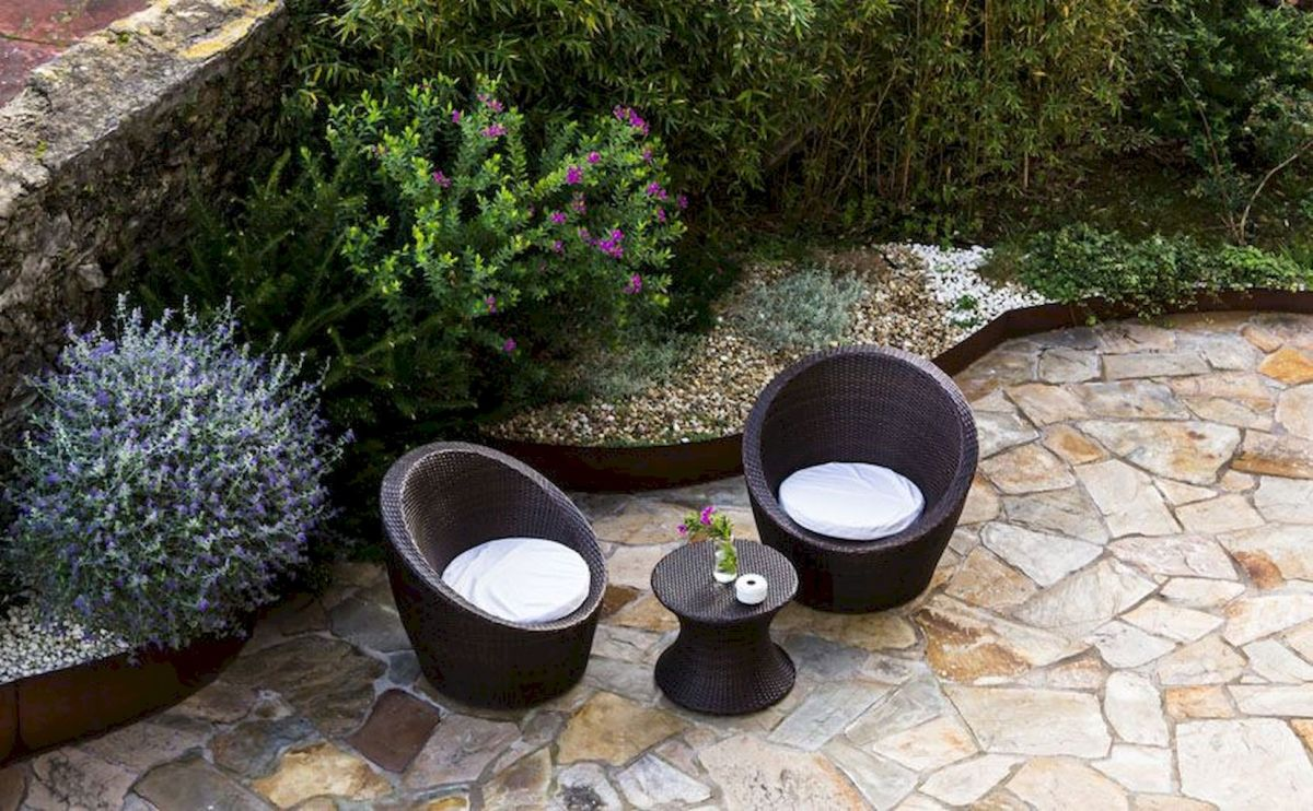 Inspiring outdoor and garden paving ideas using flagstones Part 10