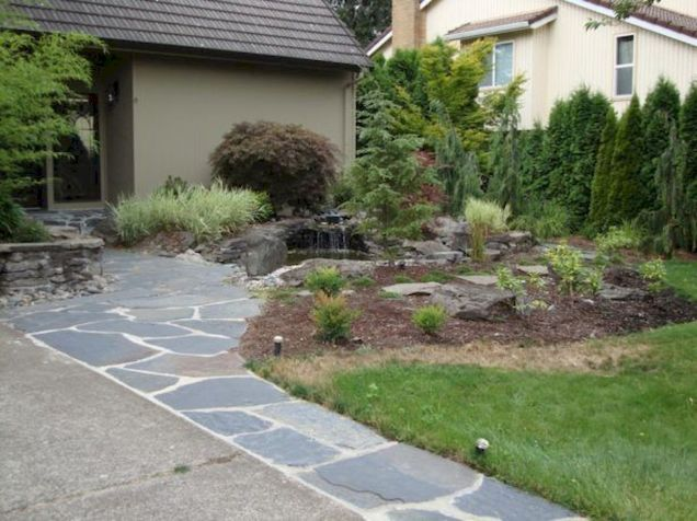 Inspiring outdoor and garden paving ideas using flagstones Part 14