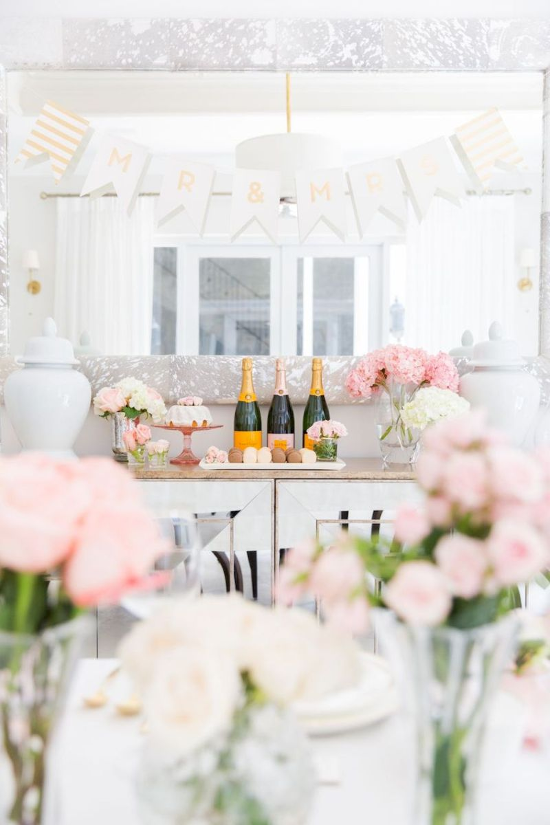 Lovely Table Decoration for Valentine Wedding Theme Part 20