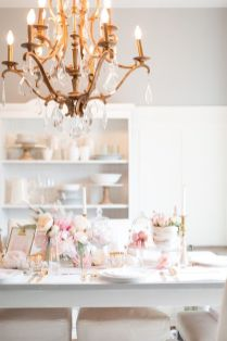 Lovely Table Decoration for Valentine Wedding Theme Part 33