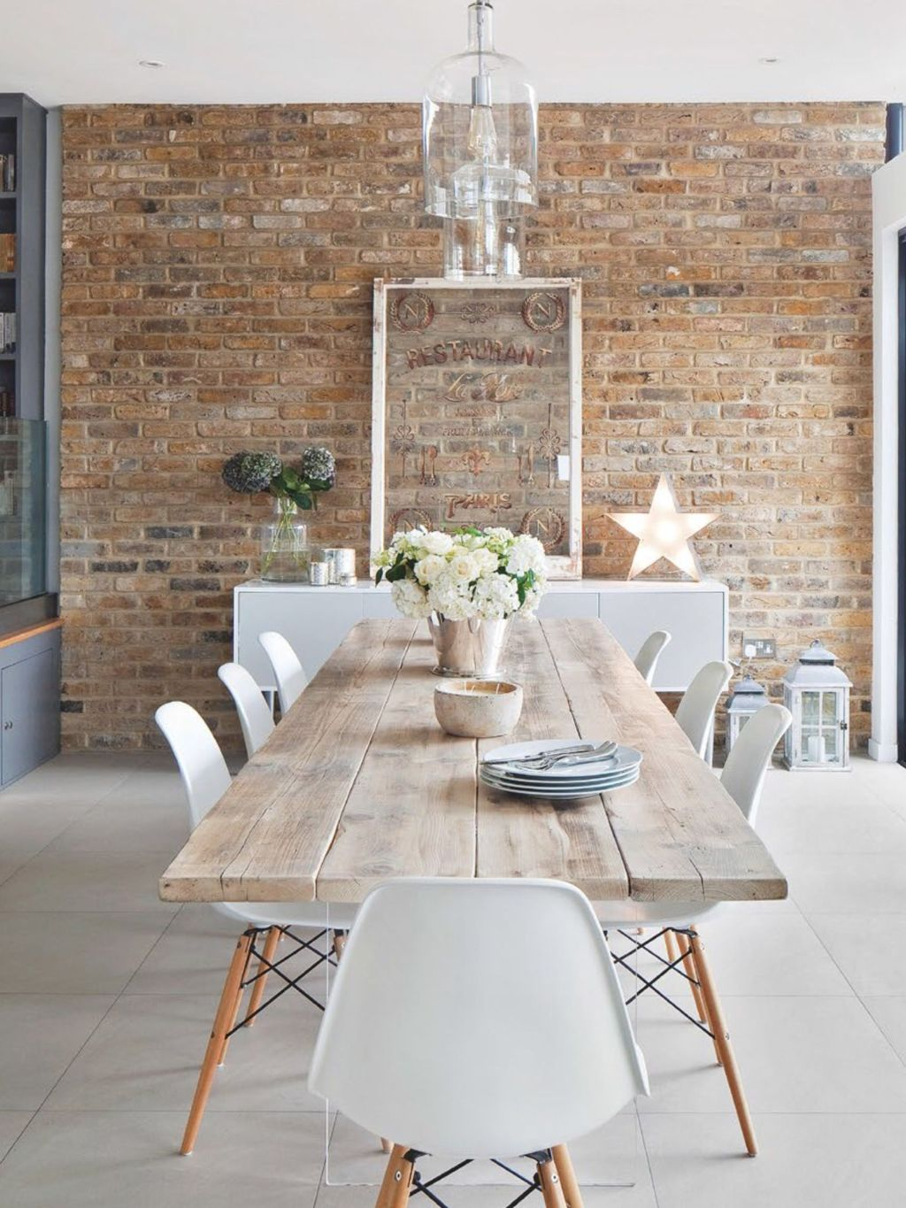 Modern Coastal Dining Room A Refreshment In Home Update