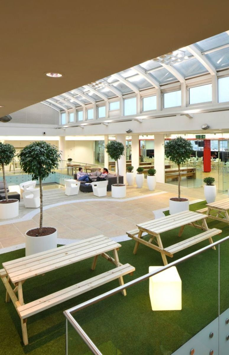 Modern Office Design with Healthy Natural Ideas That Increases Productivity Part 12