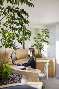 Modern Office Design with Healthy Natural Ideas That Increases Productivity Part 3