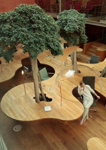 Modern Office Designs that Really Blend with the Nature 3Part 25