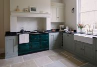 Natural Stone Floor Ideas that Looks Amazing in Traditional and Vintage Kitchen Styles Part 15